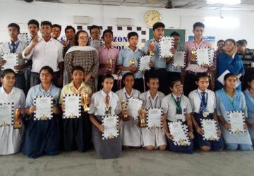 International School, Patna organized CISCE Patna Zone Inter School Chess