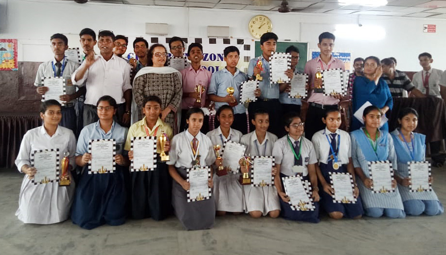 International School, Patna organized CISCE Patna Zone Inter School Chess