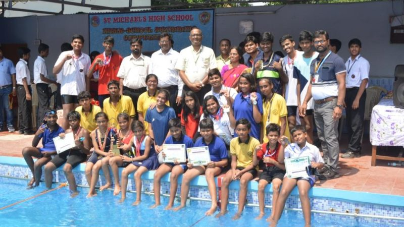 INTER – SCHOOL SWIMMING COMPETITION@ST.MICHAEL'S HIGH SCHOOL