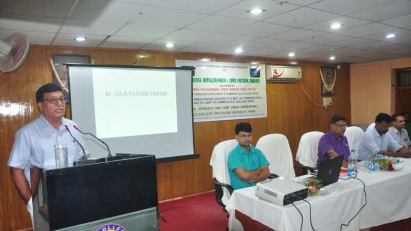 Lecture on Artificial Intelligence by Prof. Agrawal.