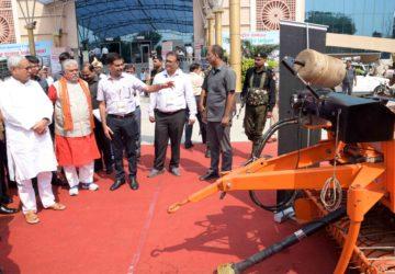 अनाज के साथ-साथ फसल अवशेष के सही उपयोग से किसानों की बढ़ेगी आमदनी- मुख्यमंत्री