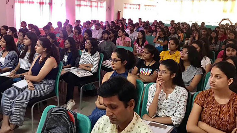 Lecture series on photography at NIFT Patna