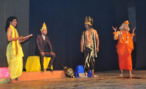 <b>मायाराम की माया का मंचन</b>