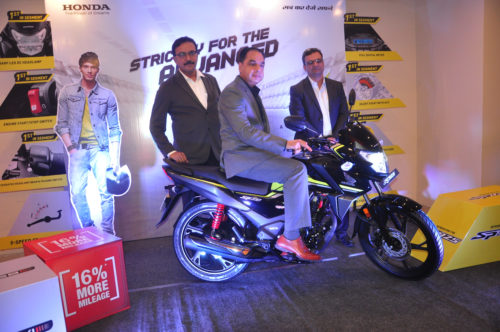 <b>*Honda launches its FIRST BSVI advanced motorcycle SP 125 in Bihar*</b>