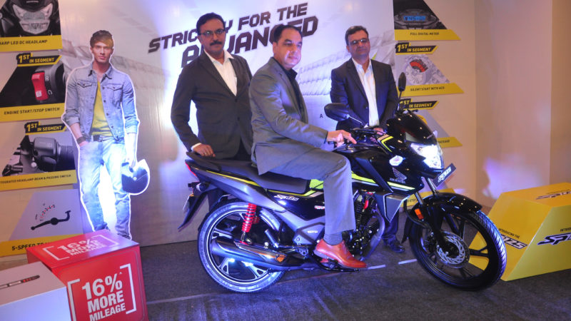 *Honda launches its FIRST BSVI advanced motorcycle SP 125 in Bihar*