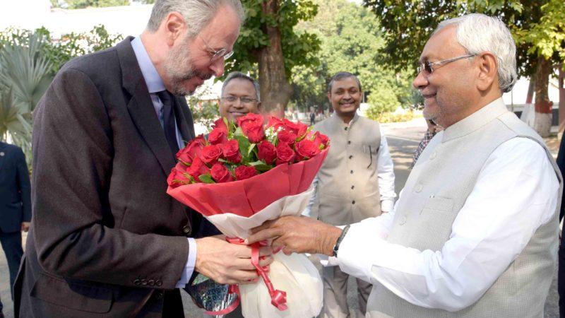 भारत में ब्राजील के राजदूत श्री ए0ए0  कोरिया डो लागो ने मुख्यमंत्री से की षिष्टाचार मुलाकात