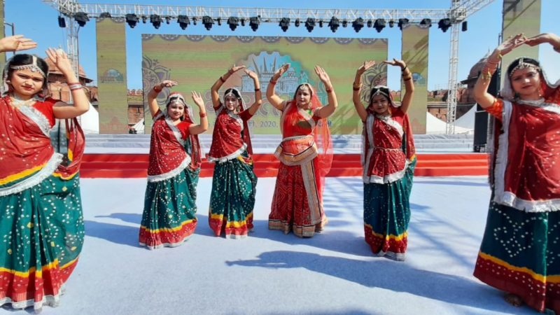 Bihari artists rock the Red Fort ground