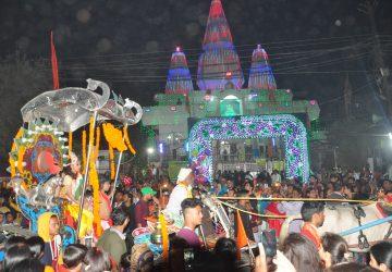 हर-हर महादेव की गुंजों से मंत्र मुग्ध एवं शिवमय हुआ खाजपुरा का षिव मंदिर