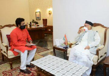 भगत सिंह कोश्यारी को महाराष्ट्र के राज्यपाल बनाए जाने पर रवि किशन ने दी बधाई व शुभकामनाएं/कहा  बिहार...