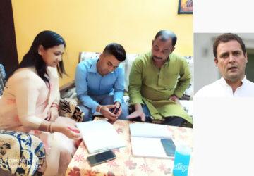 #राहुलगांधीजी के #जन्मदिवस (19जून,2020) पर  गरीब ,निसहाय एवं बच्चों को बीच #बालाजीमंदिर के प्रांगण...