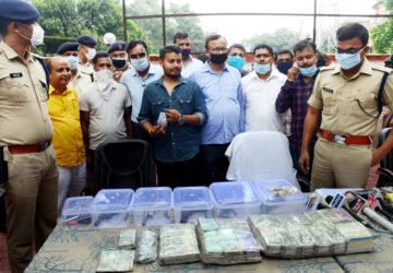 SSP Upendra Kumar Sharma's team has arrested 5 dacoits who carried out the bank robbery