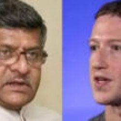 पत्र   के  जरिए से केंद्रीय मंत्री रविशंकर प्रसाद ने मार्क जकरबर्ग   को  दिया   संदेश, कहा- फेसबुक के कर्मचारी प्रधानमंत्री को कहते हैं अपशब्द !