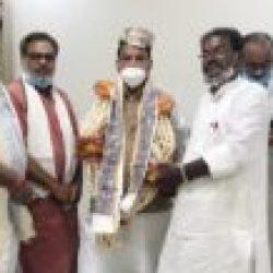 रघुवर दास जी का पाटलिपुत्र की धरती पर भाजपा पंचायतीराज प्रकोष्ठ की ओर से स्वागत एवं अभिनंदन