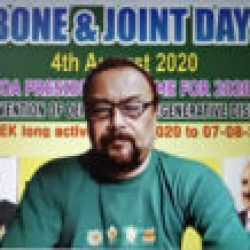 इंडियन ऑर्थोपेडिक एसोसिएशन द्वारा ४ अगस्त को बॉन एंड जॉइंट दिवस